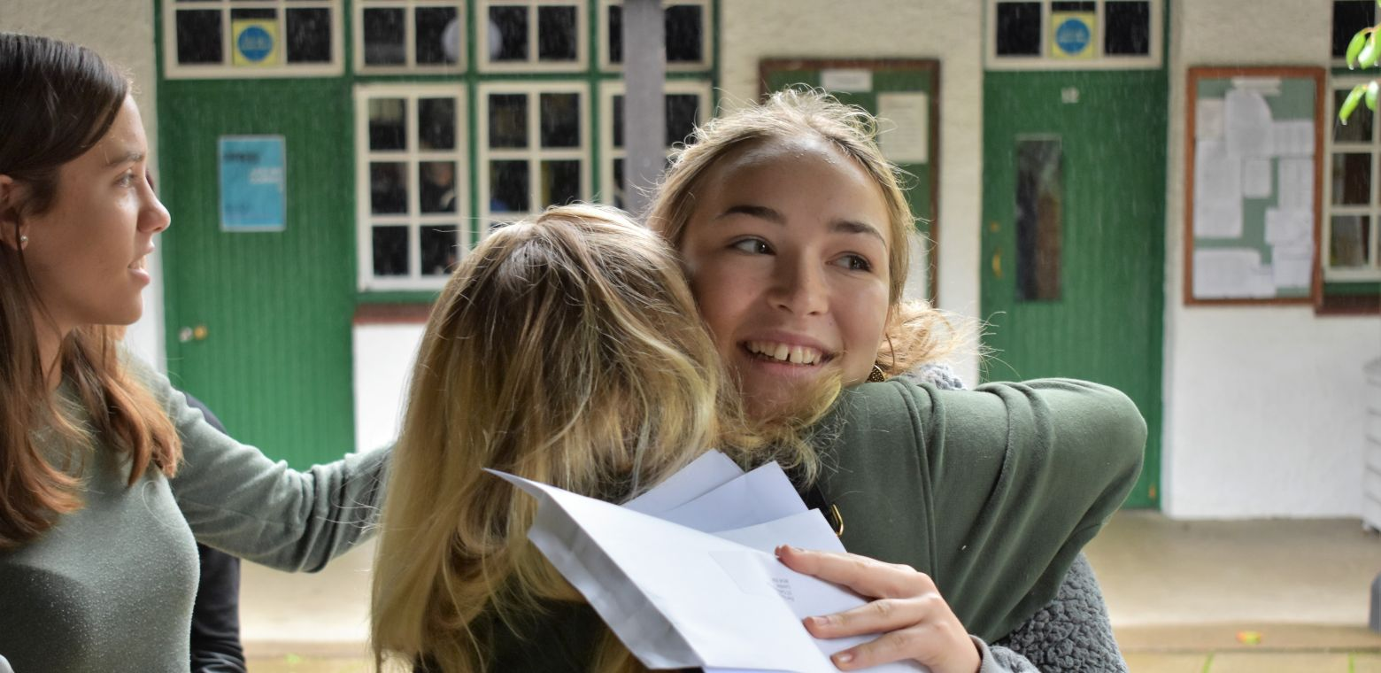 results day at St Christopher School Letchworth