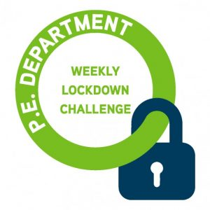 PE weekly lockdown challenge logo