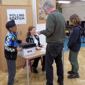 school polling station