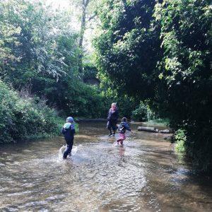 school trip to Ashwell Springs