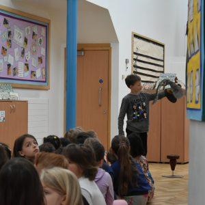 owl workshop at St Chris School