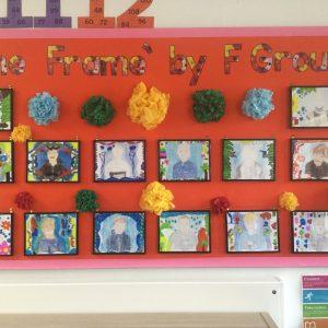 Frida Kahlo Self-Portraits by St Chris School Children